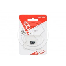 Карта памяти MicroSD 08GB Smartbuy Class 10 SDHC (без адаптера)