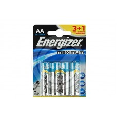 Батарейка ENERGIZER LR6 MAXIMUM (3+1 FREE) (блистер 4шт)