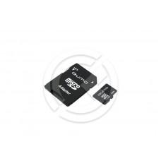 Карта памяти MicroSD 08GB Qumo Class 10 SDHC + адаптер SD
