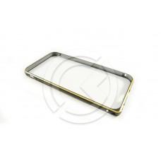 Бампер Металлический на iPhone 6 Черный