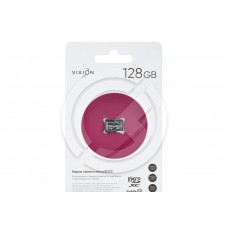 Карта памяти MicroSD 128GB VIXION Class 10 без адаптера