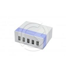 HUB USB Remax Youth RU-U1 (5 портов) (фиолетовый)