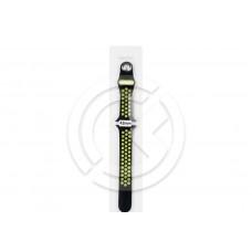 Ремешок для Apple Watch 42мм Sport Loop (черно/желтый)