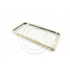 Бампер Металлический на iPhone 6 Серебряный