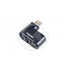 HUB USB Perfeo PF-VI-H024 3 порта (черный)