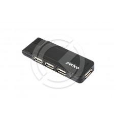 HUB USB Perfeo PF-VI-H021 4 порта (чёрный)