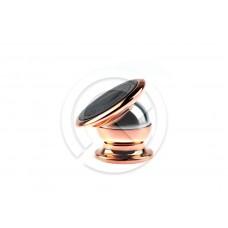 Авто-держатель Jiamei магнитный (розовое золото)