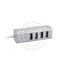 HUB USB HOCO HB1 (4 порта) (серебро)
