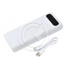 Портативное зарядное устройство (Power Bank) HOCO B20A-20000mAh (белый)