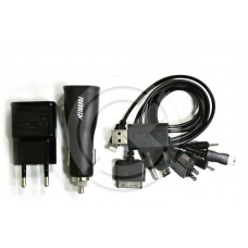 USB PROVOLTZ (АЗУ) USB + (СЗУ) USB + USB кабель на 10 разъемов Charger