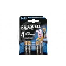 Батарейка DURACELL LR3 TURBO (блистер 4шт)