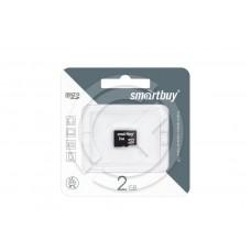 Карта памяти MicroSD 02GB Smartbuy (без адаптера)