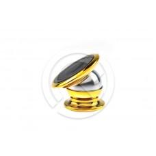 Авто-держатель Jiamei магнитный (золото)