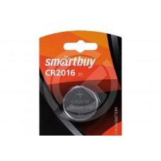 Элемент питания Smartbuy литиевый CR2016 3V (блистер 1шт)