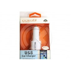 АЗУ 2в1 1А+ iPhone 5/6/7 Lightning Cable белая