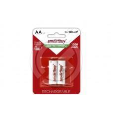 Аккумулятор NiMh Smartbuy AA 1000 mAh (блистер 2шт)