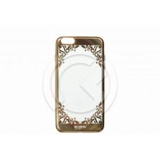 Накладка Beckberg (TPU) для iPhone 6 Plus/6S Plus (золото) тип 4