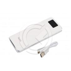 Портативное зарядное устройство (Power Bank) HOCO B23A-15000mAh Flowed (белый)