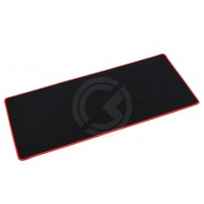 Коврик для мышки 300x700x3 мм (черно/красный)