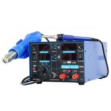 Термовоздушная паяльная станция YIHUA 853D (3 в 1, 3A, USB LED)