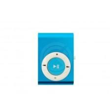 MP3 плеер металлик (голубой)