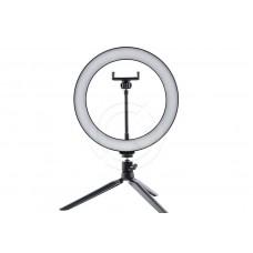Кольцевая лампа для фото и селфи + настольный штатив