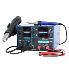 Термовоздушная паяльная станция YIHUA 853D (3 в 1, 2A,USB)