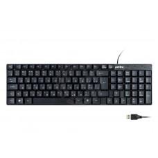 Клавиатура Perfeo проводная DOMINO USB (черный)