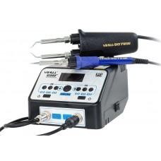 Паяльная станция YIHUA 938BD+ с термопинцетом