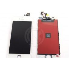 Дисплей для iPhone 5 + тачскрин белый с рамкой AAA