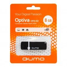8GB USB OPTIVA 02 черный QUMO