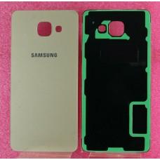 Задняя крышка Samsung A510F (A5 2016) Золото