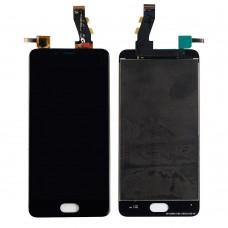 Дисплей Meizu U10 в сборе с тачскрином Черный