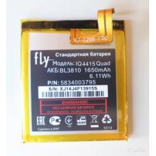 АКБ Fly BL3810 ( IQ4415/Quad Era Style 3 )