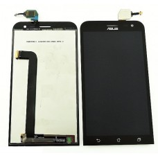 Дисплей Asus ZE550ML (ZenFone 2) в сборе с тачскрином Черный