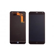 Дисплей Meizu M1 Note в сборе с тачскрином Черный