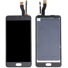 Дисплей Meizu M5 Note в сборе с тачскрином Черный
