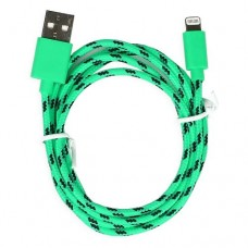 кабель neylon 1,5 м зеленый