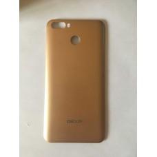 Крышка золотого цвета на Dexp G150