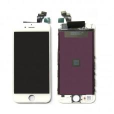 Дисплей iPhone 5S/SE в сборе Белый - AA