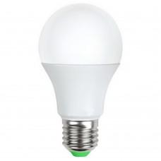 Светодиодная лампа A60-09W/4500/E27 холодный свет ЭКОНОМКА