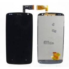Дисплей HTC Desire 500/Desire 500 Dual в сборе с тачскрином Черный