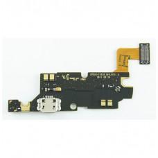 Шлейф Samsung N7000/i9220 на системный разъем/микрофон