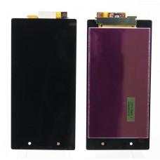 Дисплей Sony C6903 (Z1) в сборе с тачскрином Черный