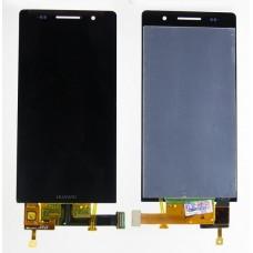 Дисплей Huawei Ascend P6 в сборе с тачскрином Черный