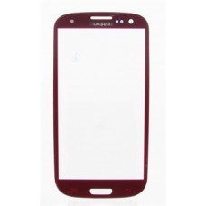 Стекло Samsung i9300 Красное