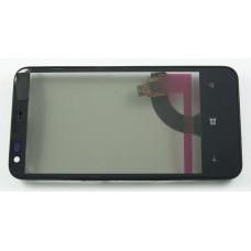 Тачскрин Nokia 620 в сборе Черный REV.3 - Оригинал