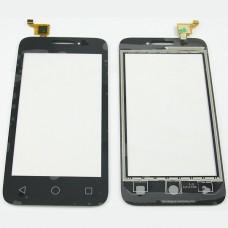 "Тачскрин Alcatel OT-4013D (Pixi 3) (4"") Черный"